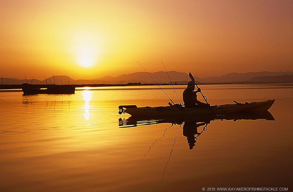 Kayak Fishing in sicurezza