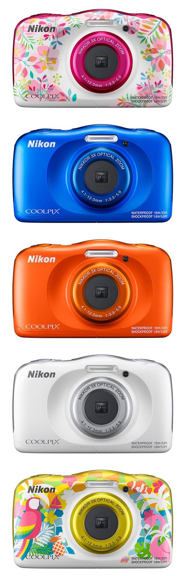 NIKON-COOLPIX-W150-colori