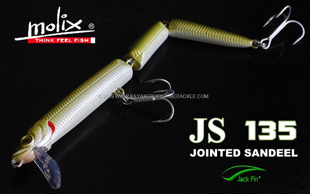 Molix JS 135 Jointed Sandeel