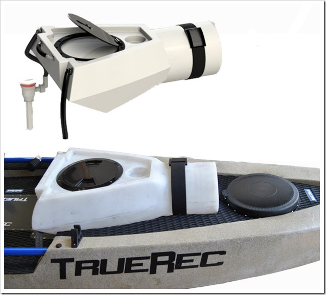 TreRec Kayaks Vasca del vivo