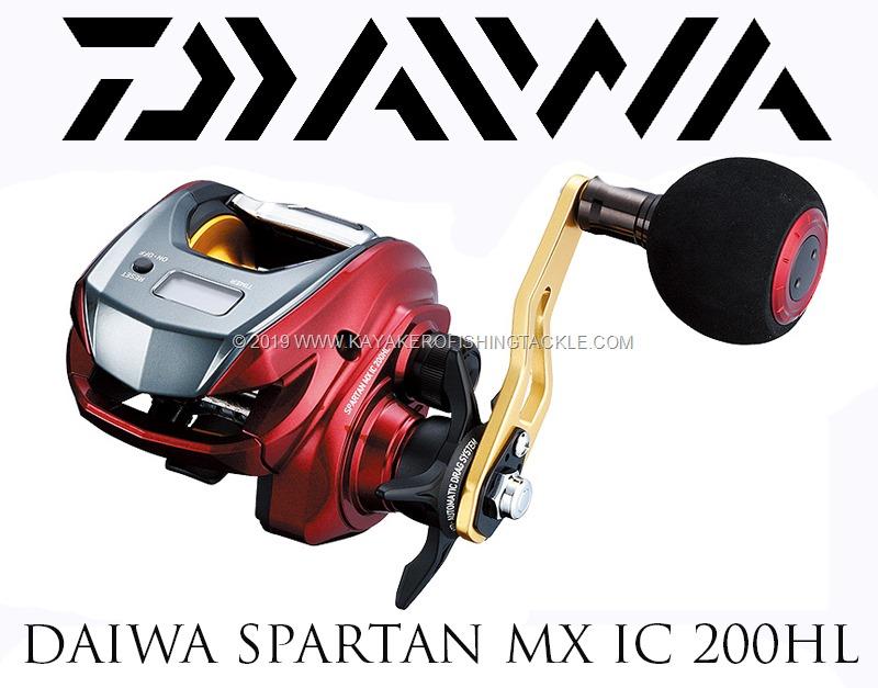 Daiwa Spartan MX IC 200 HL