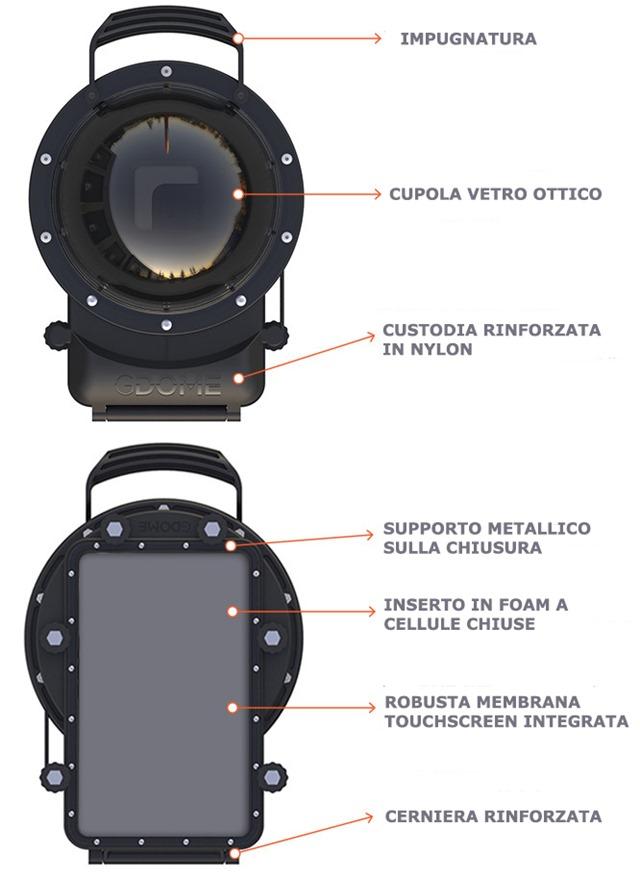 GDMOBILE cover caratteristiche