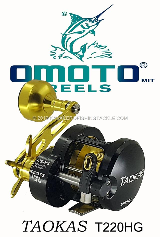 OMOTO Reels TAOKAS T220HG cover