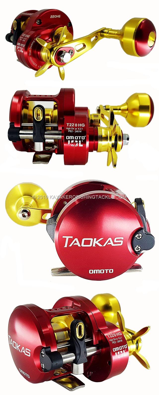 OMOTO Reels TAOKAS T220HG viste globali