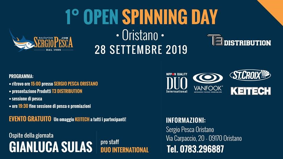 1° Open Spinning Day Oristano