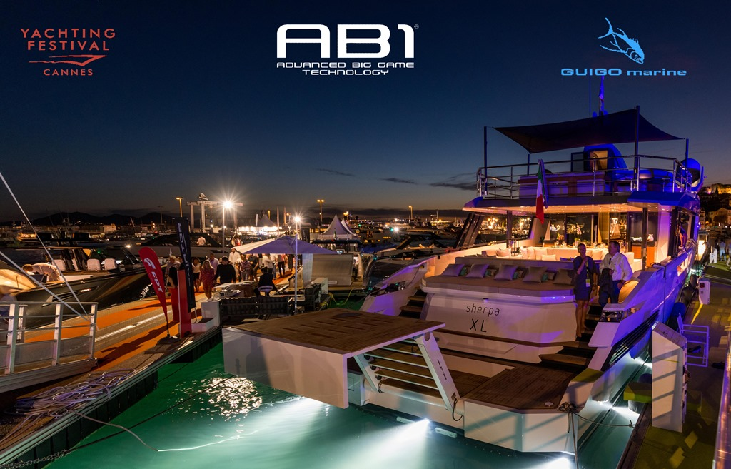 AB1 Tackle allo Yachting Festival Cannes 2019