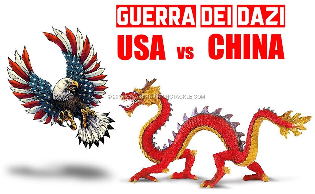 USA vs CHINA guerra dei dazi
