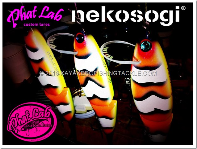 NEKOSOGI LURES custom cover