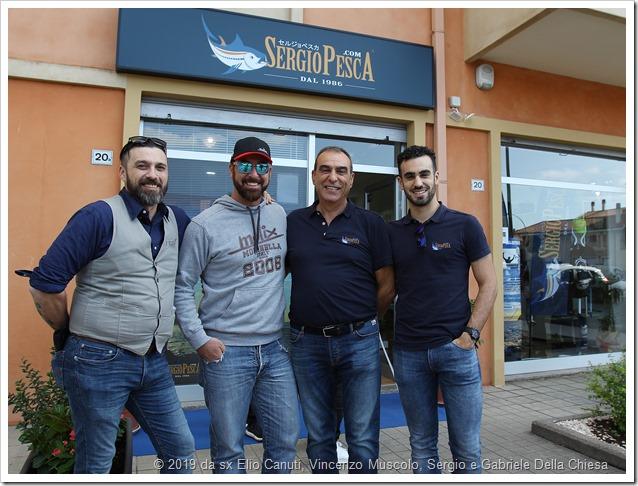 1 SPINNING DAY MOLIX SERGIO PESCA Molix staff e Sergio Pesca