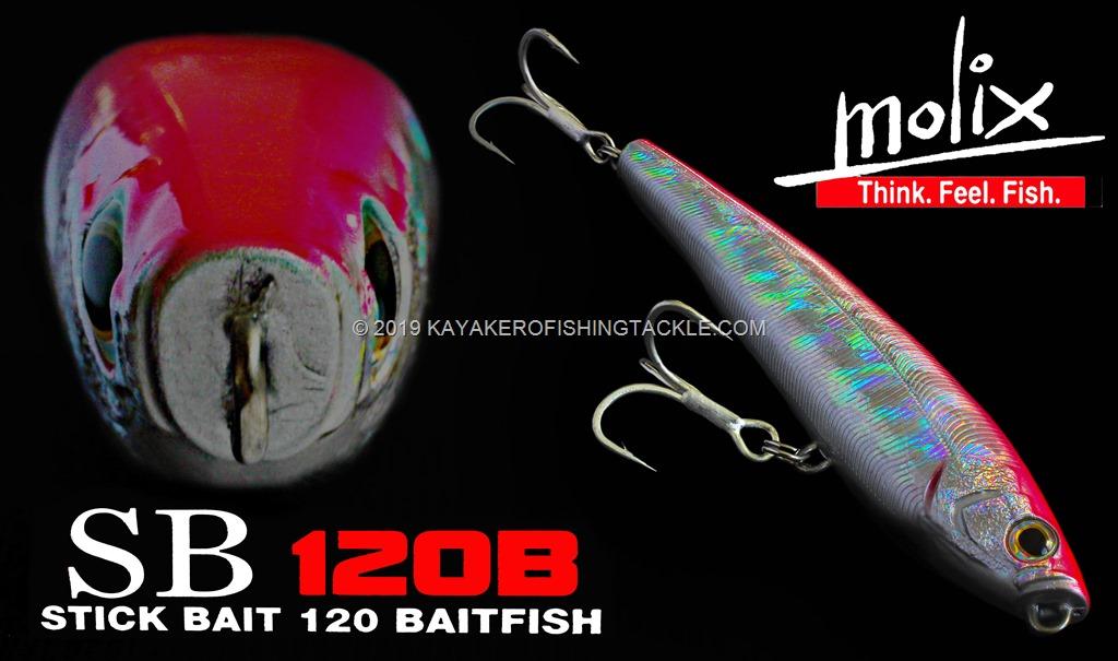 Molix SB120B Stick Bait 120 Baitfish