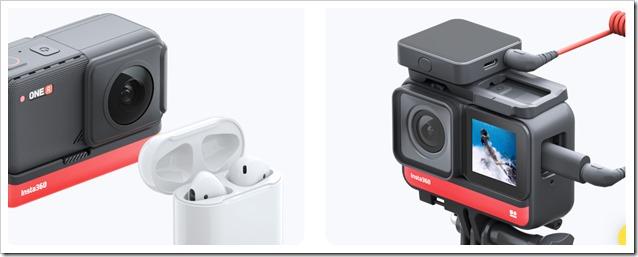INSTA360-1-Inch-R-Leica connessione audio