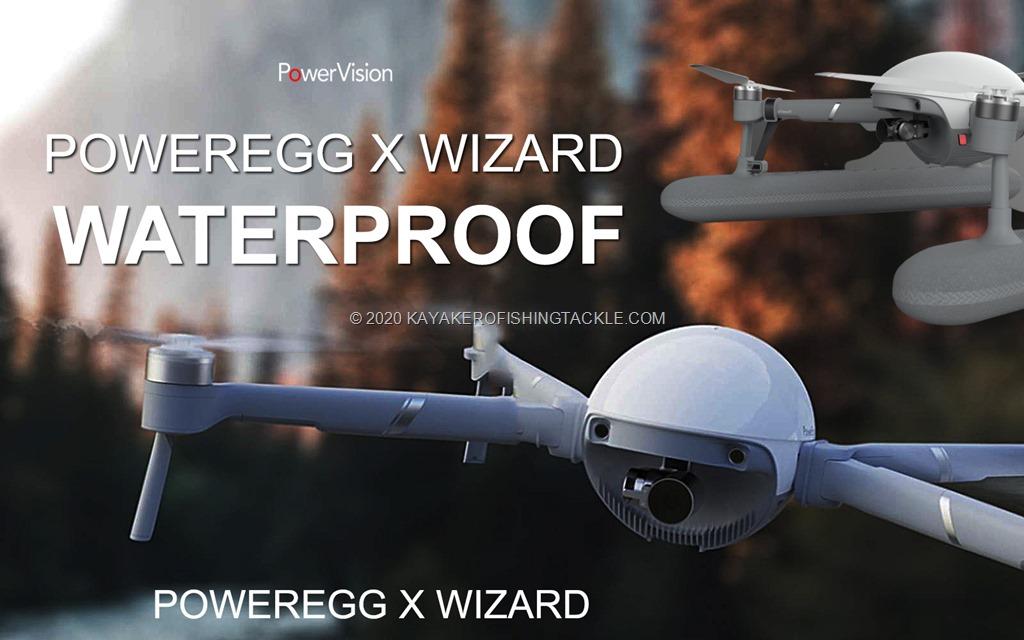 PowerEgg X waterproof drone