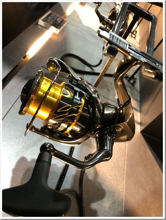 OSAKA FISHING SHOW New Shimano Twin Power