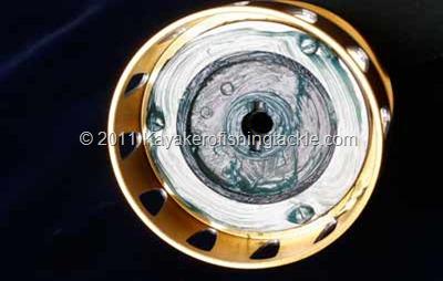 PENN-TORQUE-----Particolare-largo--Disco-frizione-sotto-bobina
