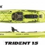 Ocean Kayak Trident New 2017
