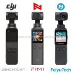 DJI Osmo Pocket, Fimi Palm, Feiyu Tech  a confronto