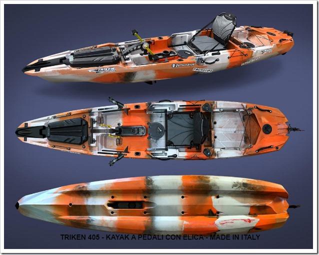Big Mama Kayak Triken 405  viste generali