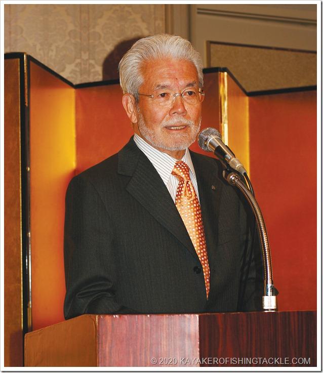 Shimano-Japan---Yoshizo-Shimano-Chairman-di-Shimano-Inc