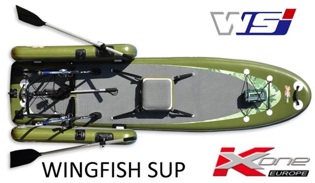 Zebec Wingfish SUP