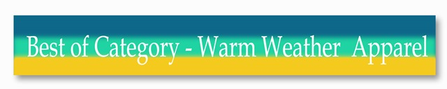 Warm Wheather apparel