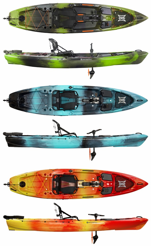 PERCEPTION KAYAKS Pescador Pilot 12 0 colori