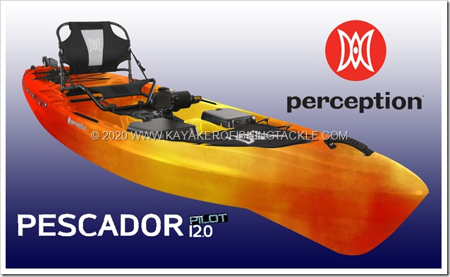 PERCEPTION KAYAKS Pescador Pilot 12 0