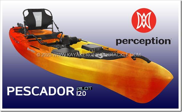 PERCEPTION KAYAKS Pescador Pilot 12 0
