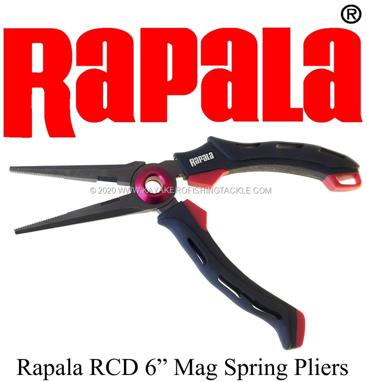 "Rapala RCD 6"" Mag Spring Pliers"