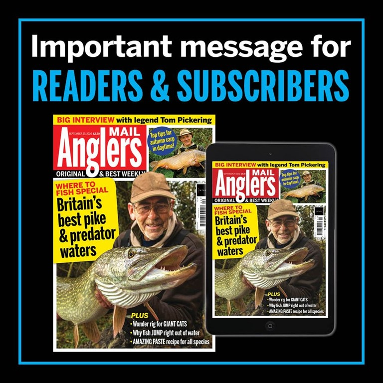 Angler's Mail chiude